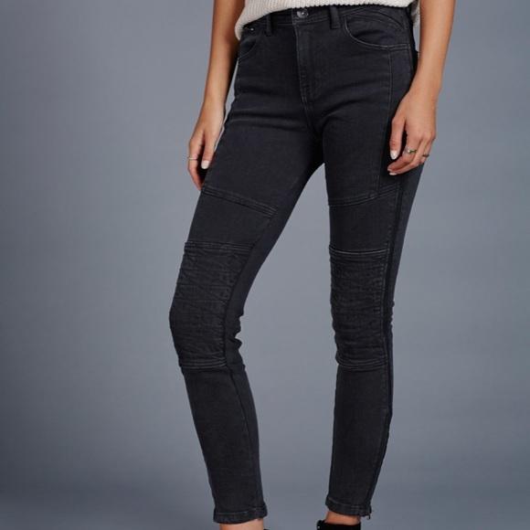 229bfd6b2b6e Free People Denim - Free People Moto magic skinny high waist blk jeans